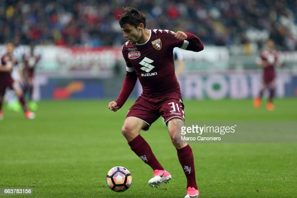 Lucas Boyè of Torino FC in action during the Serie A football match between Torino FC and Udinese Final result is 22