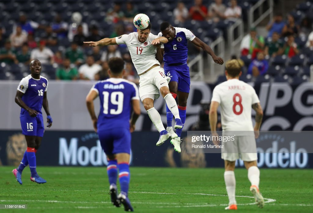 Haiti v Canada: Quarterfinals - 2019 CONCACAF Gold Cup : News Photo