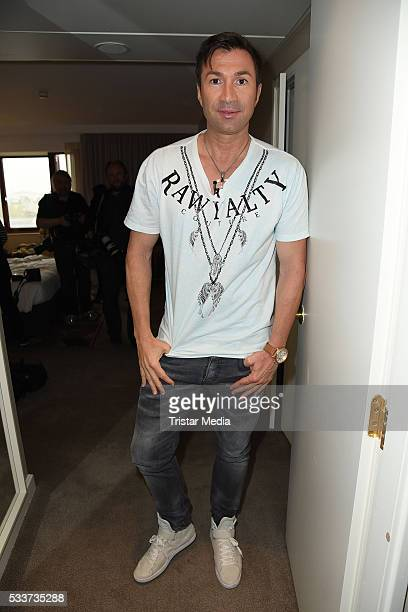 Lucas Cordalis attends the 'Daniela Katzenberger Mit Lucas im Hochzeitsfieber' Photo Call on May 23 2016 in Cologne Germany
