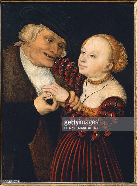 Lucas Cranach the Elder The Old Man and the Young Woman