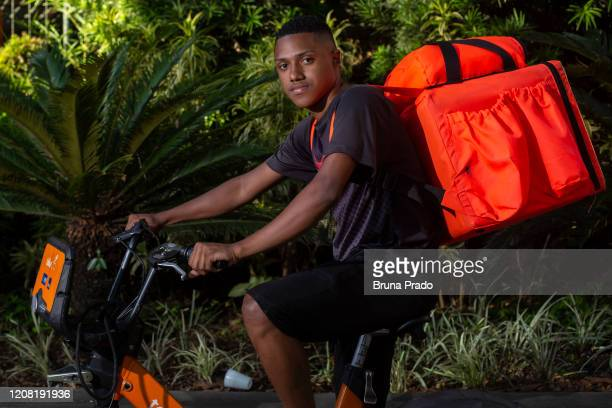 Lucas da Silva 22 years old resident of Morro da Formiga in the Lins de Vasconcelos neighborhood poses for a portrait on March 24 2020 in Rio de...