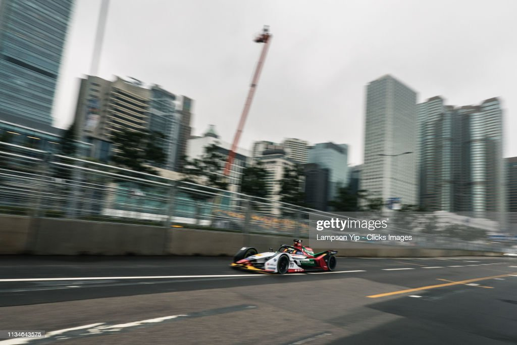 Hong Kong E-Prix - Practice : News Photo