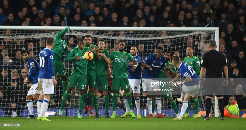 Everton FC v Watford FC - Premier League : News Photo