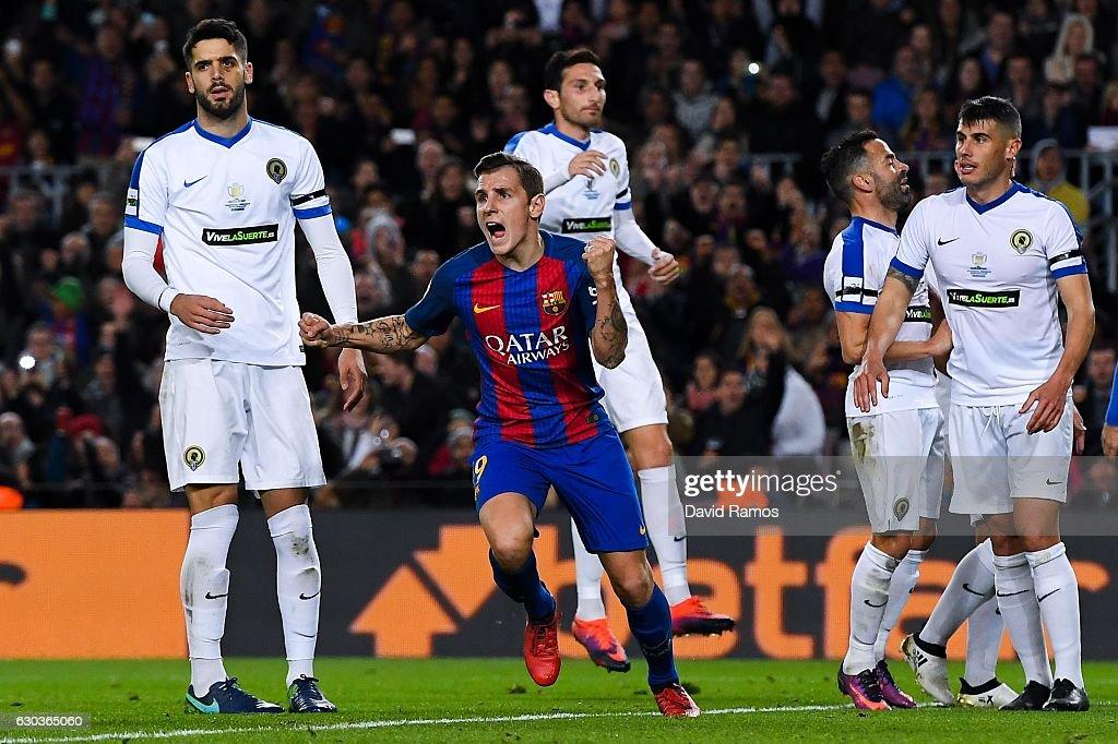 FC Barcelona v Hercules - Copa del Rey