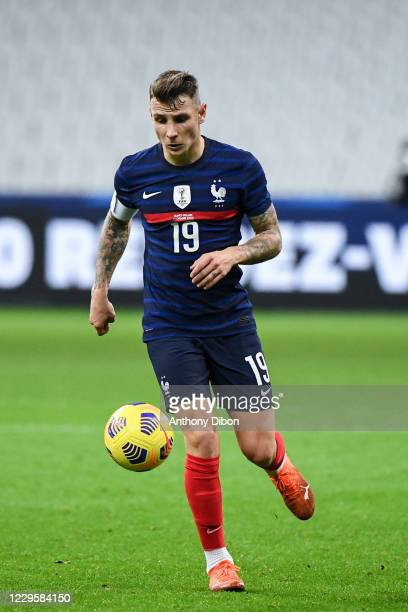 Lucas DIGNE of France during the international friendly match between France and Finland at Stade de France on November 11, 2020 in Paris, France.