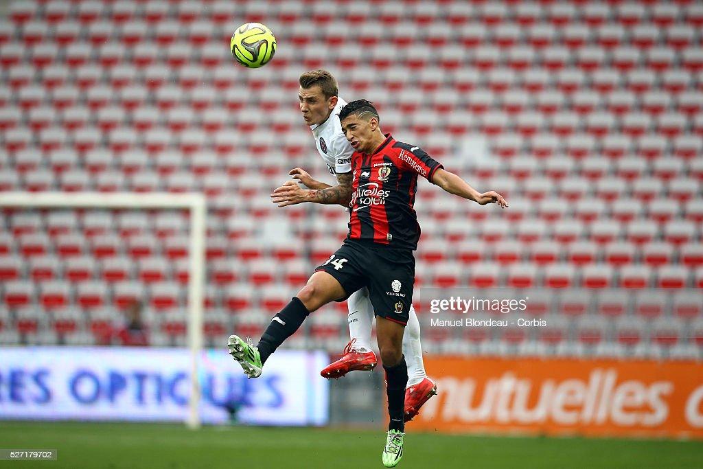 Football - French Ligue 1 - OGC Nice vs Paris Saint Germain : News Photo