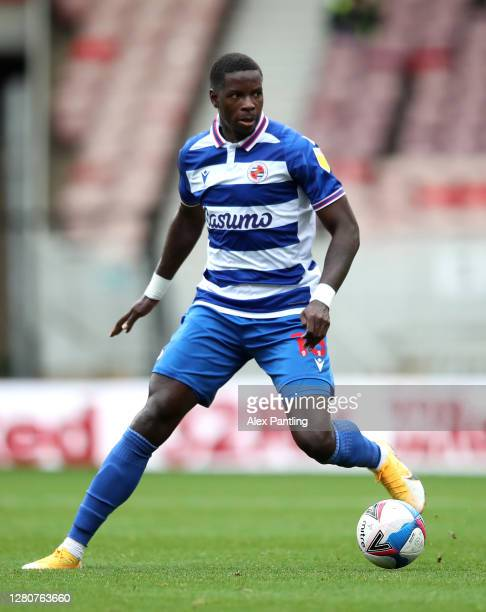 Lucas Eduardo Santos Joao of Reading during the Sky Bet Championship match between Middlesbrough and Reading at Riverside Stadium on October 17 2020...