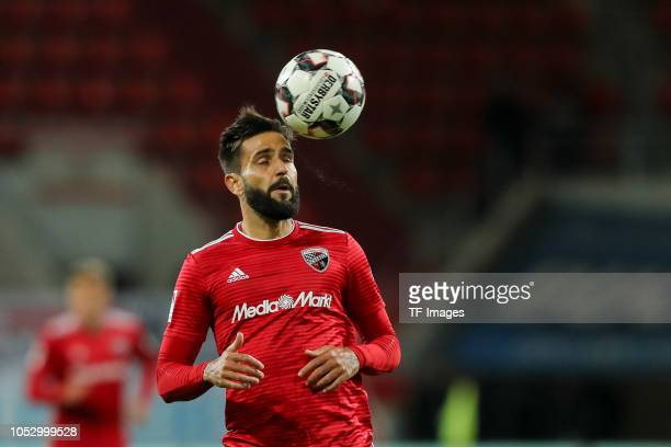 Lucas Galvao of FC Ingolstadt controls the ball during the Second Bundesliga match between FC Ingolstadt 04 and 1 FC Union Berlin at Audi Sportpark...