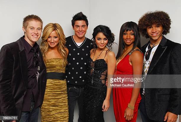 "Lucas Grabeel, Ashley Tisdale, Zac Efron, Vanessa Hudgens, Monique Coleman and Corbin Bleu of ""High School Musical"" *EXCLUSIVE*"