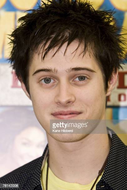 Lucas Grabeel attends a promotional tour for High School Musical at Chadstone Shopping Centre on November 29 2007 in Melbourne Australia