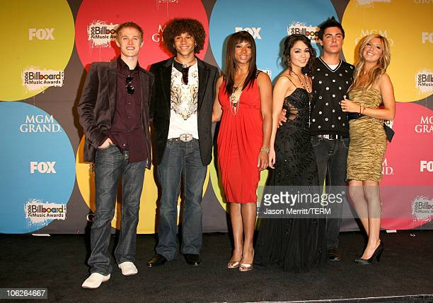 Lucas Grabeel Corbin Bleu Monique Coleman Vanessa Hudgens Zac Efron and Ashley Tisdale of High School Musical winners Soundtrack Album