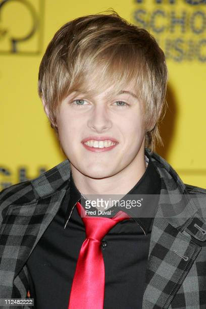 Lucas Grabeel during High School Musical UK Film Premiere Red Carpet/Inside at Empire in London Great Britain