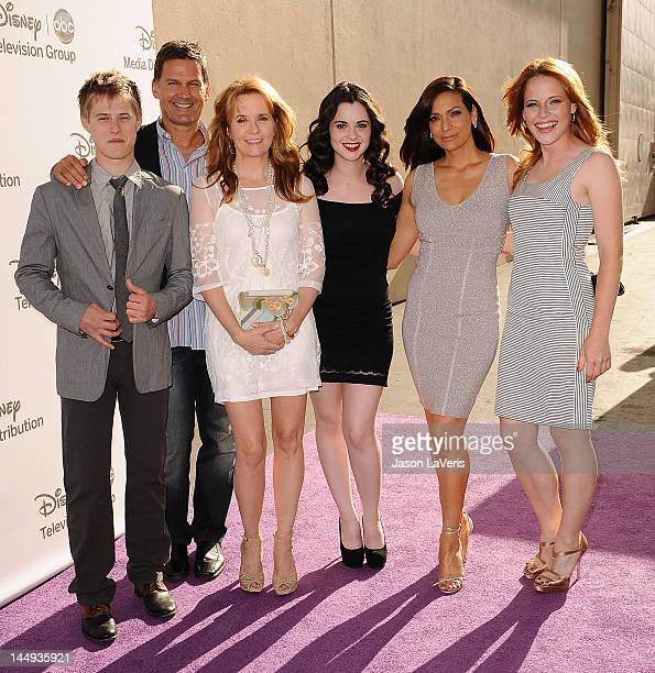 Lucas Grabeel DW Moffett Lea Thompson Vanessa Marano Constance Marie and Katie Leclerc attend Disney Media Networks International Upfronts at Walt...