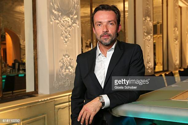 Lucas Gregorowicz during the #Whatdrivesyou event by Cartier Wempe Weinstrasse on October 25 2016 in Munich Germany