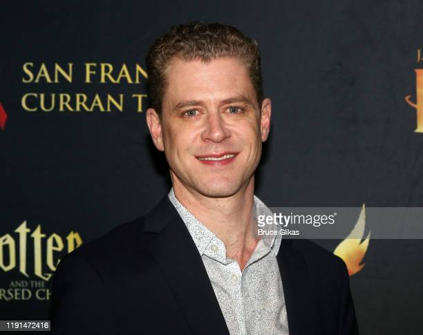 Lucas Hall poses at the opening night after party for Harry Potter and The Cursed Child Parts One 2 at August Hall on December 1 2019 in San...