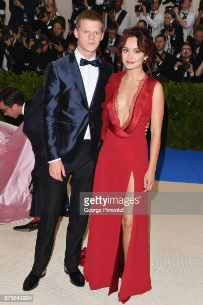 Lucas Hedges and Olivia Cooke attend the 'Rei Kawakubo/Comme des Garcons Art Of The InBetween' Costume Institute Gala at Metropolitan Museum of Art...