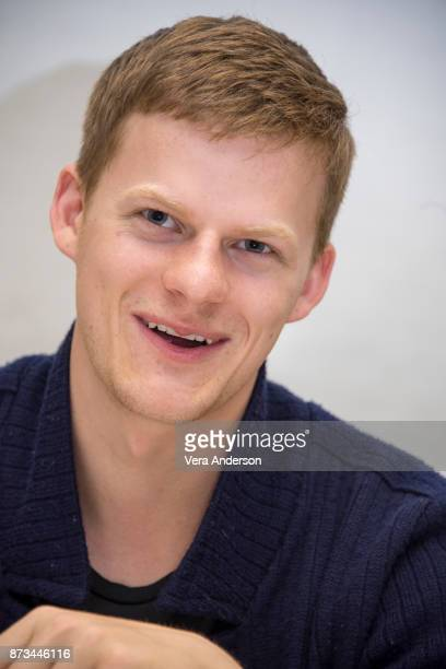 Lucas Hedges at the 'Lady Bird' Press Conference at the Four Seasons Hotel on November 9 2017 in Beverly Hills California