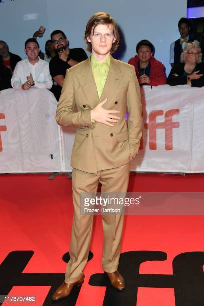 """Lucas Hedges attends the """"Honey Boy"""" premiere during the 2019 Toronto International Film Festival at Roy Thomson Hall on September 10, 2019 in..."""