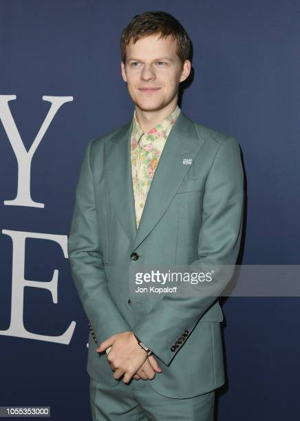 Lucas Hedges attends the premiere of Focus Features' 'Boy Erased' at Directors Guild Of America on October 29 2018 in Los Angeles California