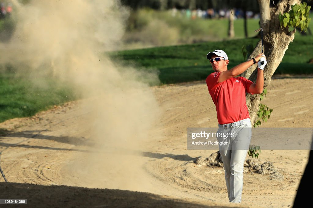 Omega Dubai Desert Classic - Day Three : News Photo