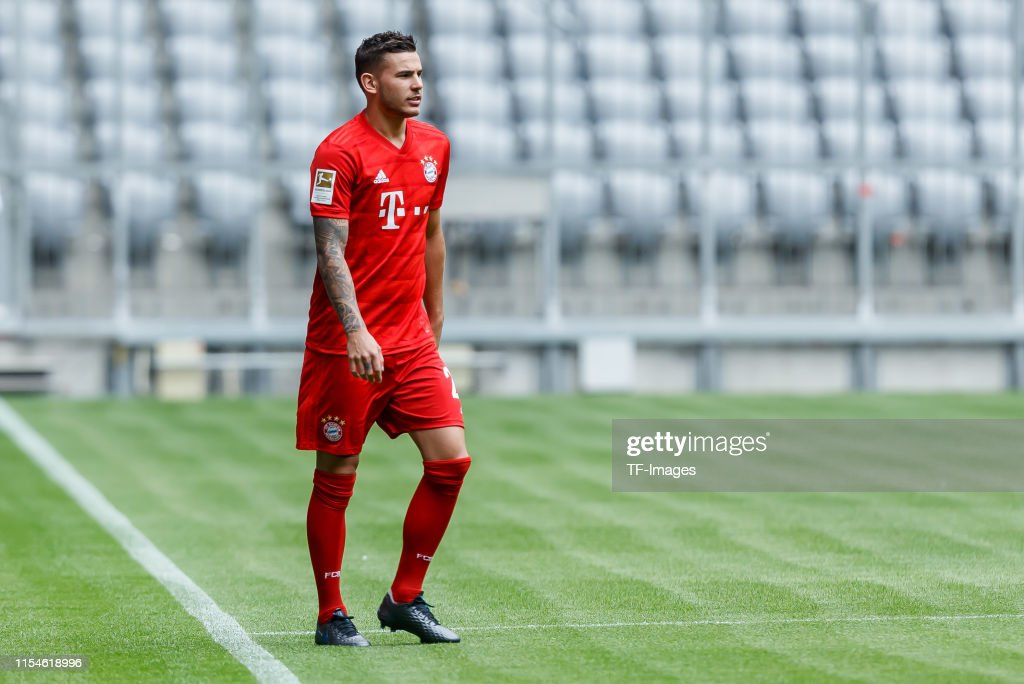 FC Bayern Muenchen Unveils New Signing Lucas Hernandez : News Photo