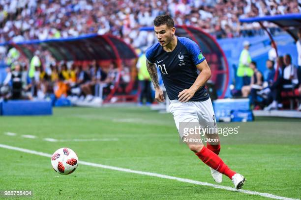 Lucas Hernandez of France during the FIFA World Cup Round of 16 match between France and Argentina at Kazan Arena on June 30 2018 in Kazan Russia