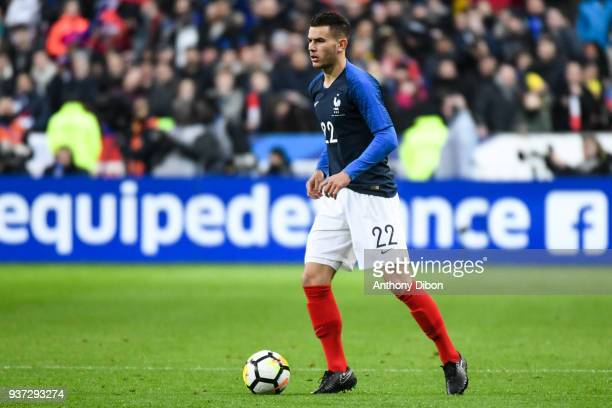 Lucas Hernandez of France during the International friendly match between France and Colombia on March 23 2018 in Paris France