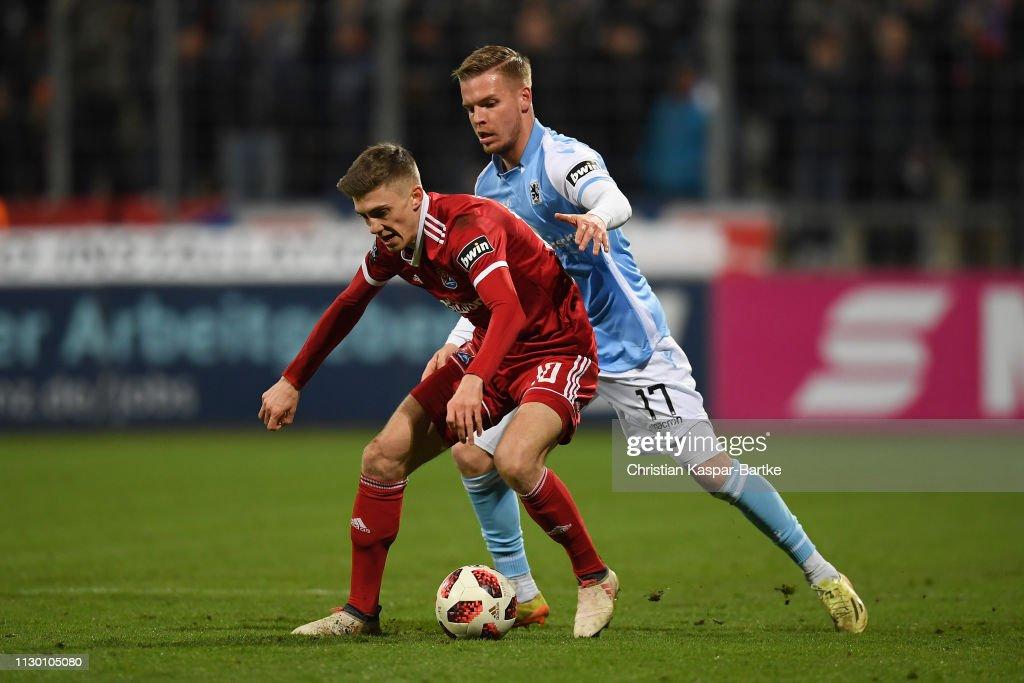 TSV 1860 Muenchen v SpVgg Unterhaching - 3. Liga : News Photo