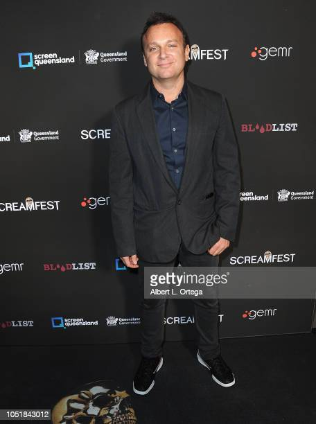 Lucas Jarach arrives for the Screamfest LA Opening Night Screening Of 'The Amityville Murders' at TCL Chinese 6 Theatres on October 9 2018 in...