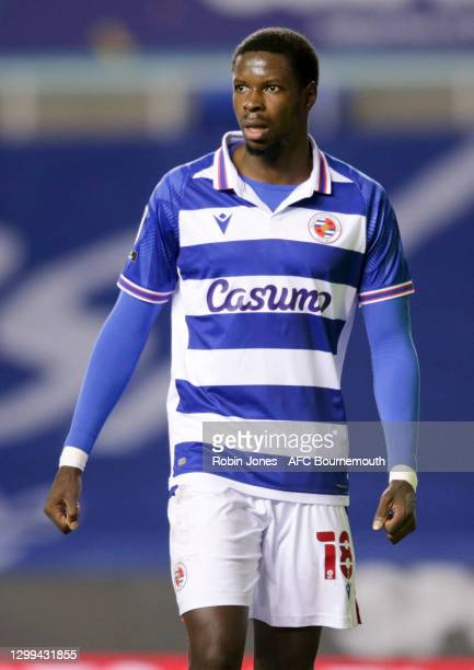 Lucas Joao of Reading FC during the Sky Bet Championship match between Reading and AFC Bournemouth at Madejski Stadium on January 29, 2021 in...