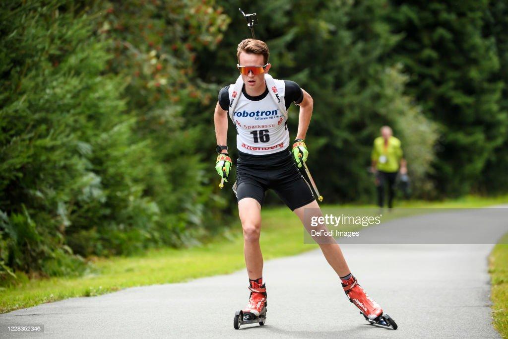 German Biathlon Championship 2020 - Men 15 km Single : News Photo