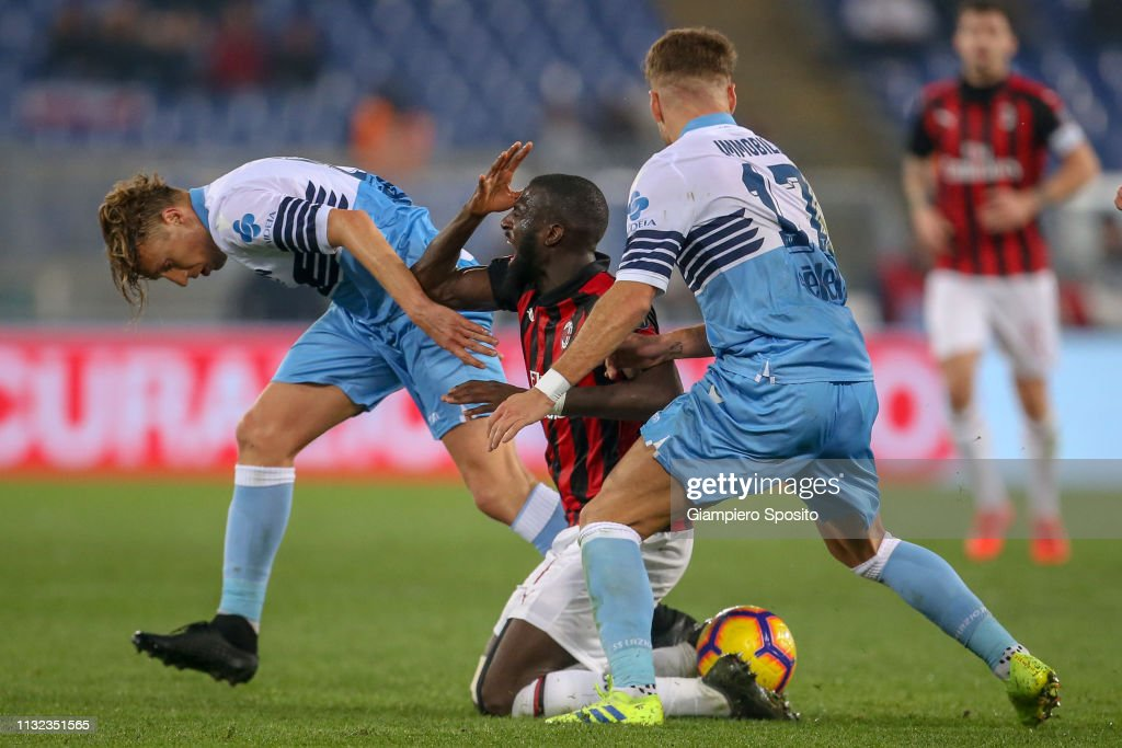 SS Lazio v AC Milan - Coppa Italia : News Photo