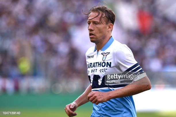 Lucas Leiva of Lazio during the Serie A match between Lazio and Fiorentina at Stadio Olimpico Rome Italy on 7 October 2018