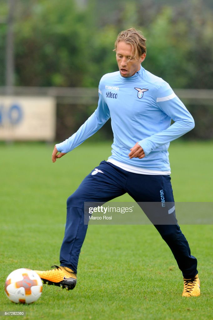 Lucas Leiva of SS Lazio during the SS Lazio Training Session on September 15, 2017 in Arnhem, Netherlands.