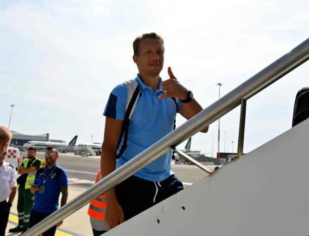 ROU: SS Lazio Travel To Cluj
