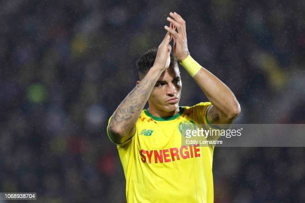 Lucas Lima of Nantes during the French Ligue 1 match between FC Nantes and Olympique de Marseille on December 5 2018 in Nantes France
