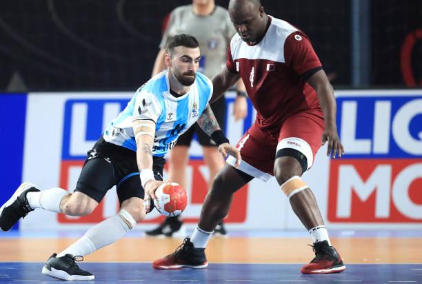 EGY: Argentina v Qatar - IHF Men's World Championships Handball 2021
