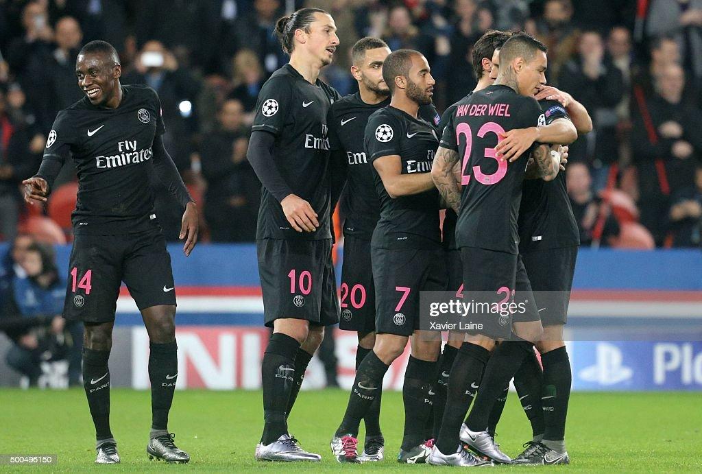 Paris Saint-Germain v FC Shakhtar Donetsk - UEFA Champions League : News Photo