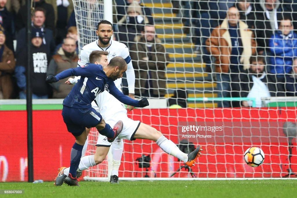 Swansea City v Tottenham Hotspur - Fly Emirates FA Cup Quarter Final : News Photo