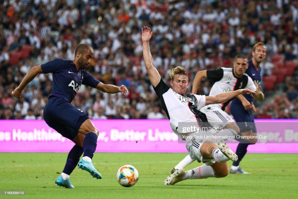 Juventus v Tottenham Hotspur - 2019 International Champions Cup : Fotografía de noticias