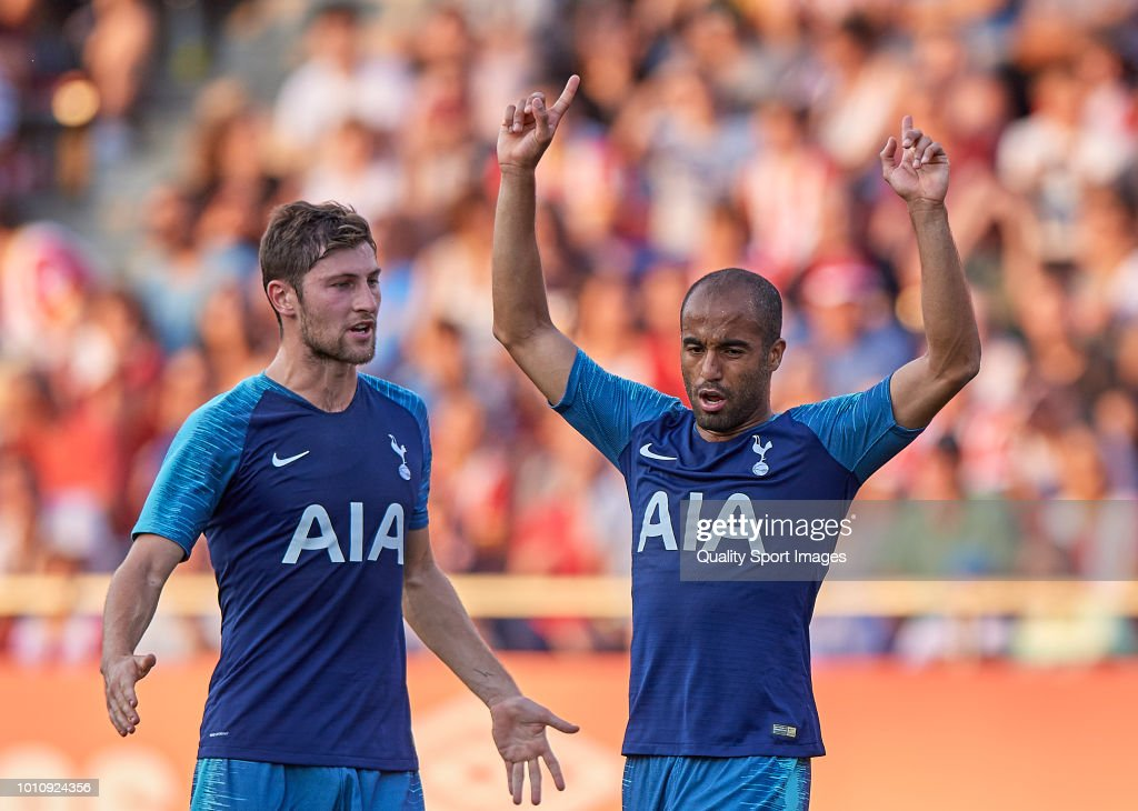 Girona v Tottenham Hotspur - Pre-Season Friendly : News Photo