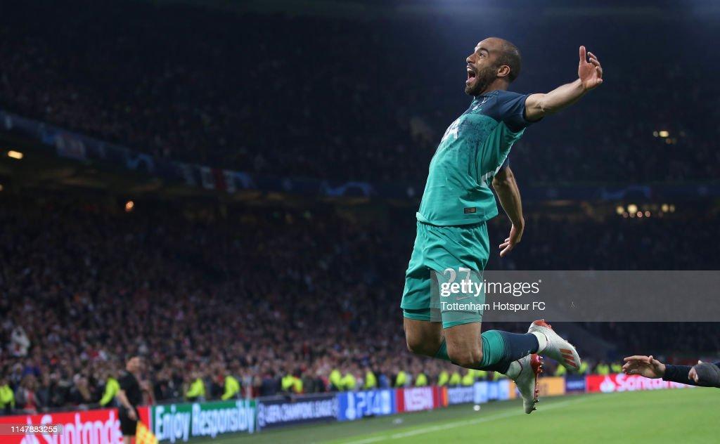 Ajax v Tottenham Hotspur - UEFA Champions League Semi Final: Second Leg : Foto di attualità