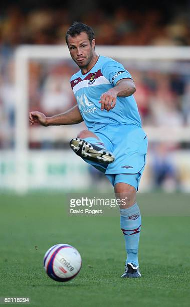 Lucas Neil of West Ham United pictured during the pre season friendly match between Peterborough United and West Ham United at London Road on July...