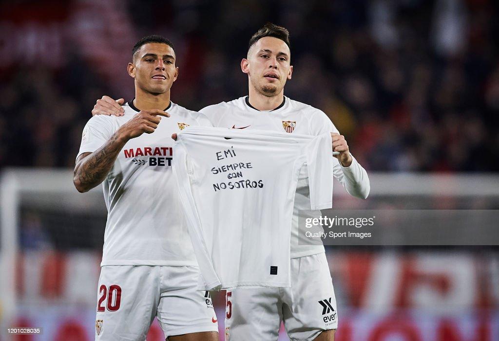Sevilla v Levante - Copa del Rey: Round of 32 : News Photo