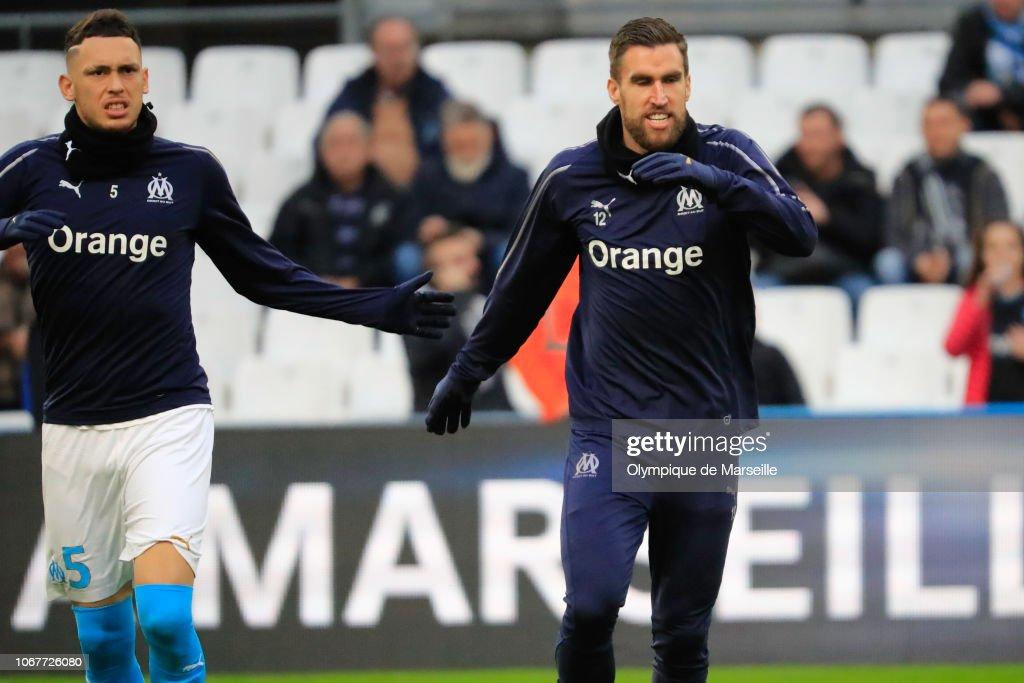 Olympique de Marseille v Stade Reims - Ligue 1 : Fotografía de noticias