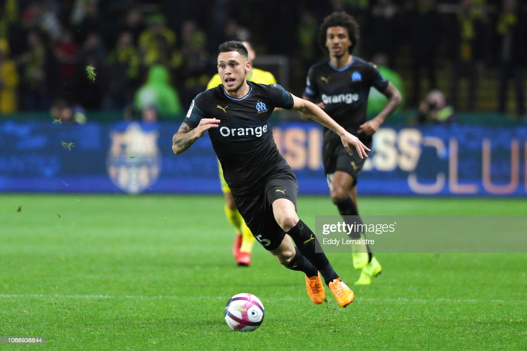 FC Nantes v Olympique de Marseille - French Ligue 1 : Fotografía de noticias