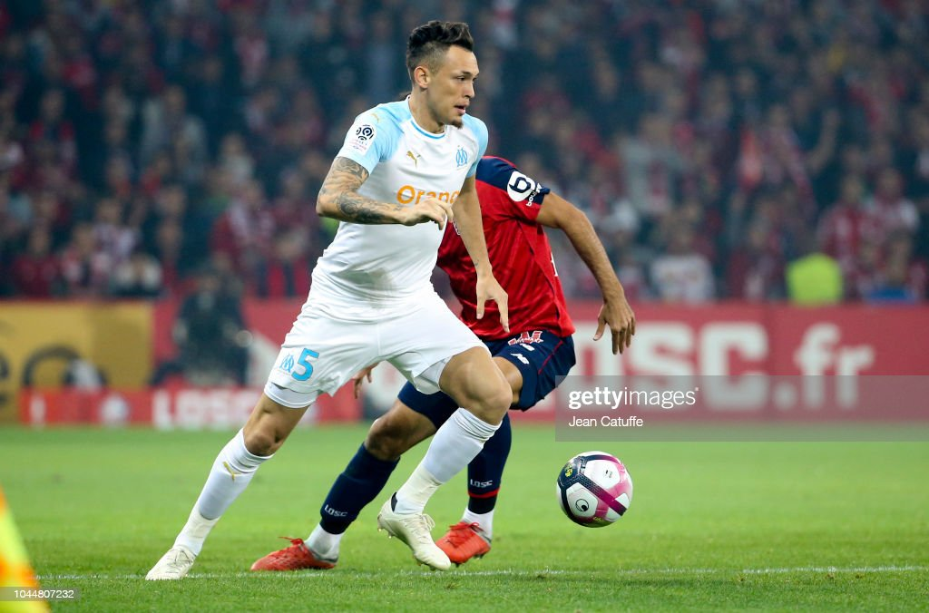 Lille OSC v Olympique de Marseille - Ligue 1 : Fotografía de noticias