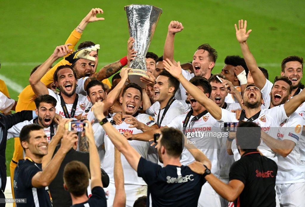 Seville v FC Internazionale - UEFA Europa League Final : News Photo