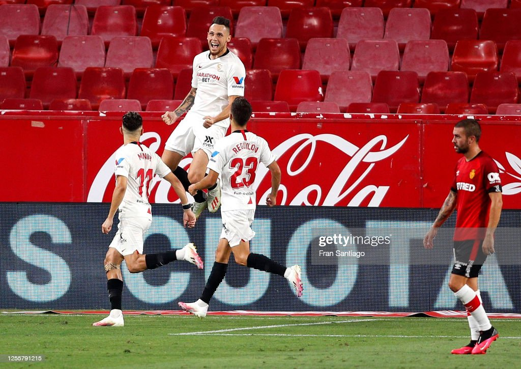 Sevilla FC v RCD Mallorca  - La Liga : ニュース写真