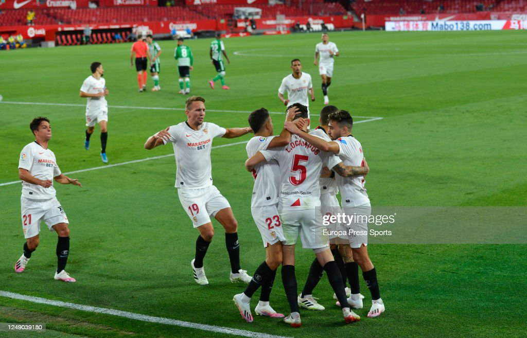 La Liga - Sevilla FC v Real Betis Balompie : ニュース写真
